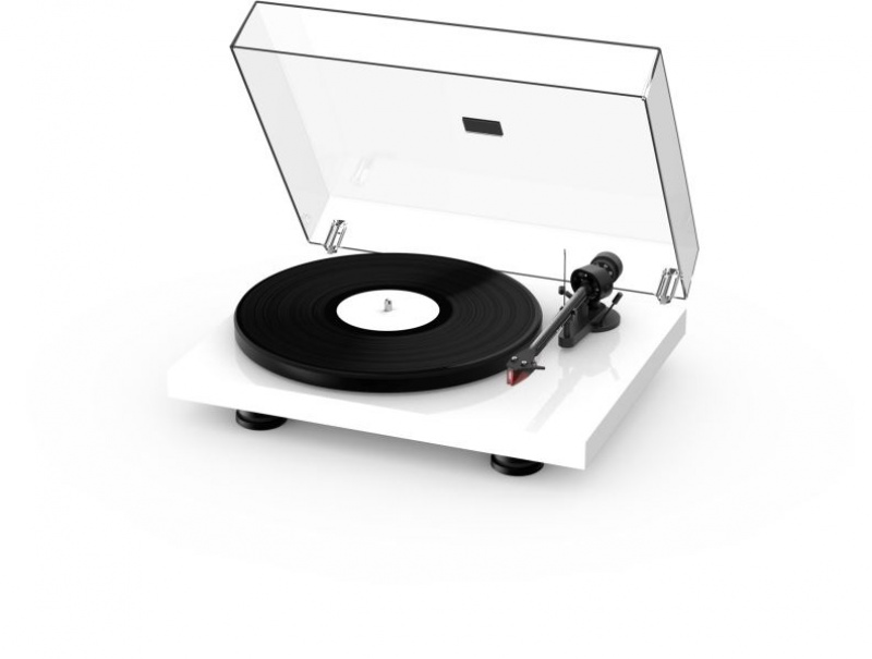 Pro-Ject Debut Carbon Evo + 2MRed - High Gloss White