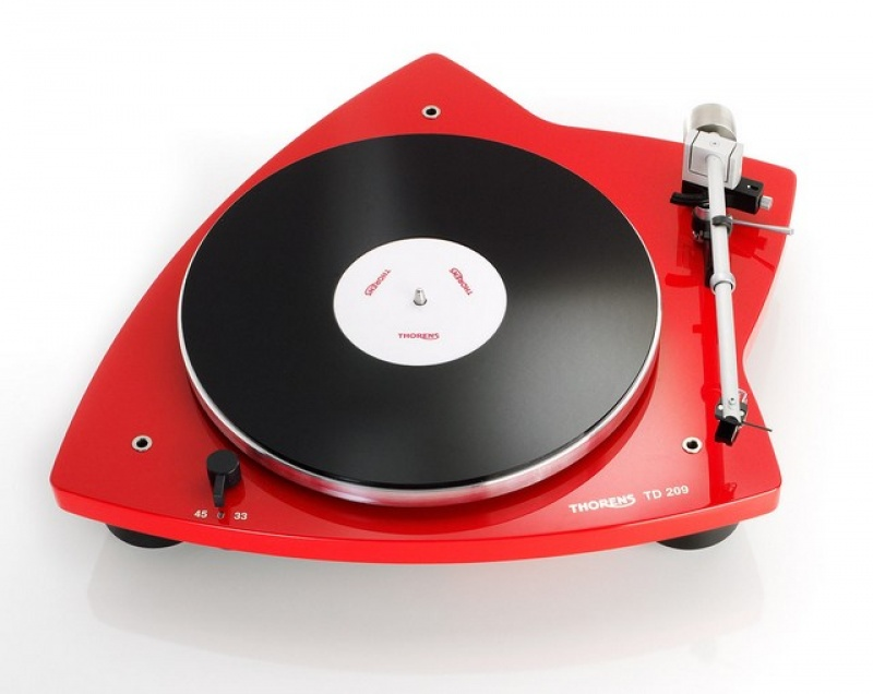 Thorens TD 209 - Red
