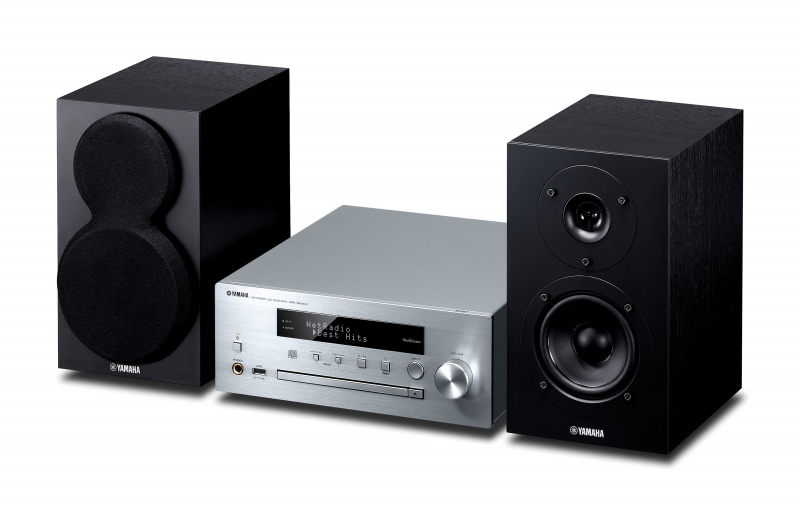 Yamaha MCR-N470D - silver