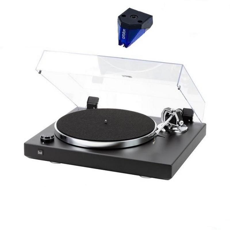 DUAL CS 600 MKII Black Structural + Ortofon 2M BLUE