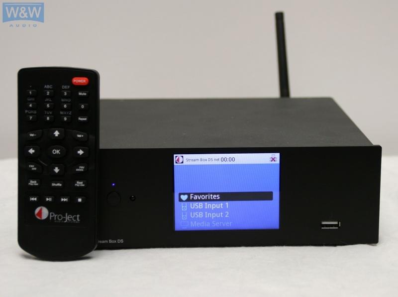 Streamer Project Box DS net černý