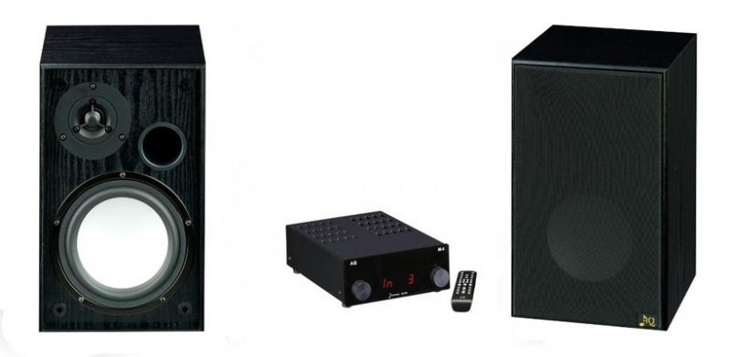 Audio set  AQ M4 D + Tango 83