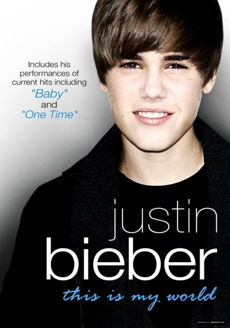 Justin Bieber - This Is My World DVD