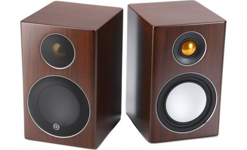 Monitor Audio Radius 90 - Walnut Real Wood Veneer