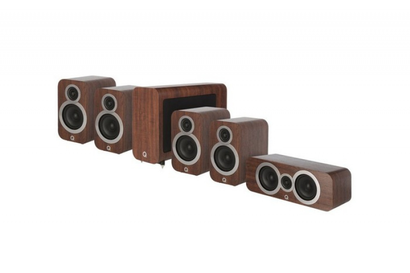 Q Acoustics 3020i 5.1 English Walnut