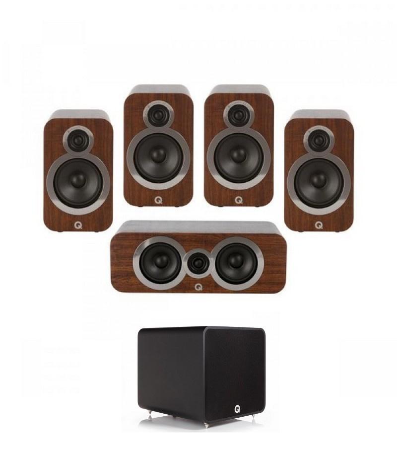 Q Acoustics 3020i PLUS 5.1 English Walnut