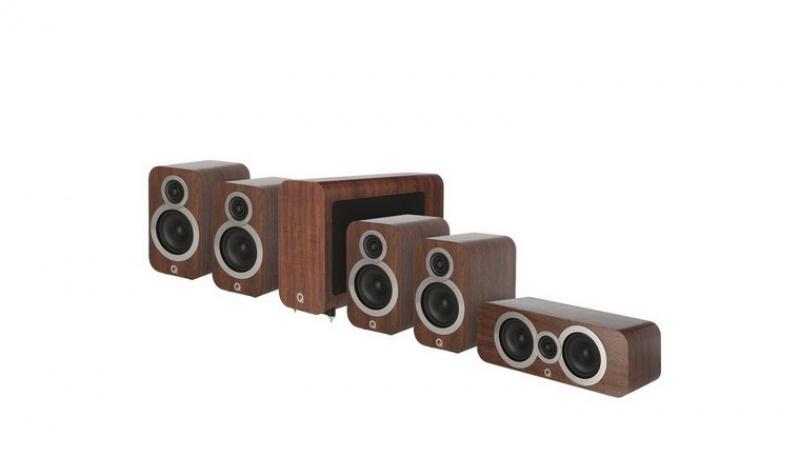 Q Acoustics 3010i 5.1 English Walnut