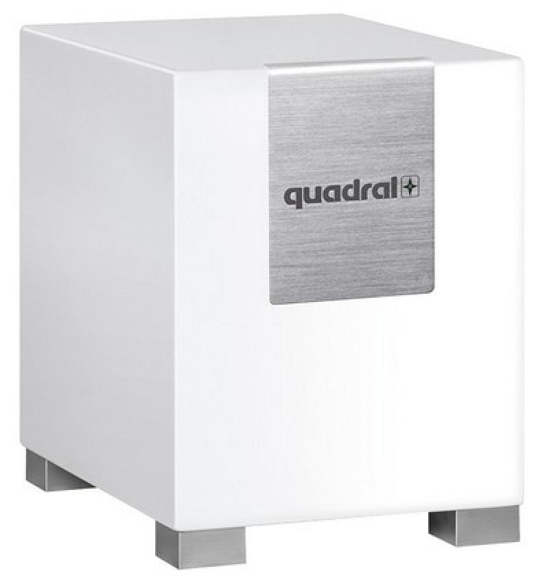 quadral qube 8 aktiv biela matn gramofony. Black Bedroom Furniture Sets. Home Design Ideas