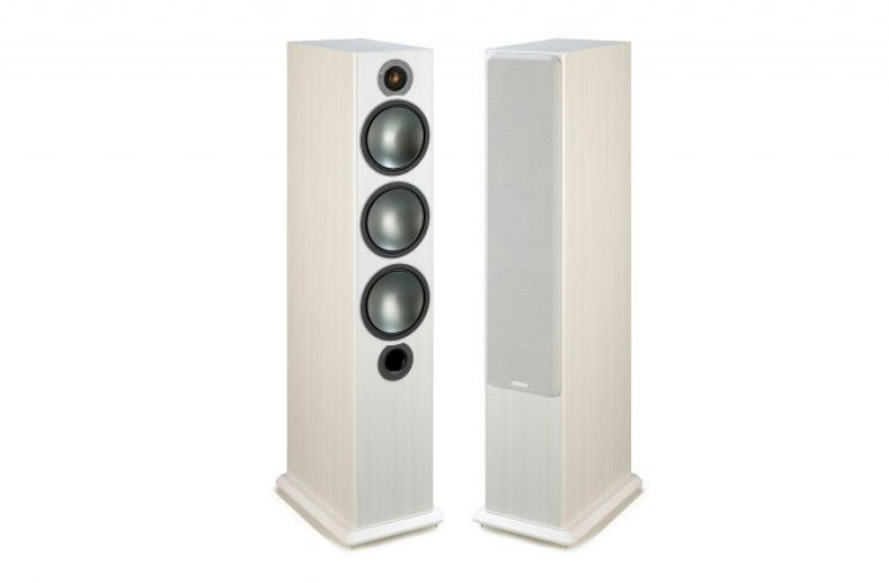 Monitor Audio Bronze 6  White Ash