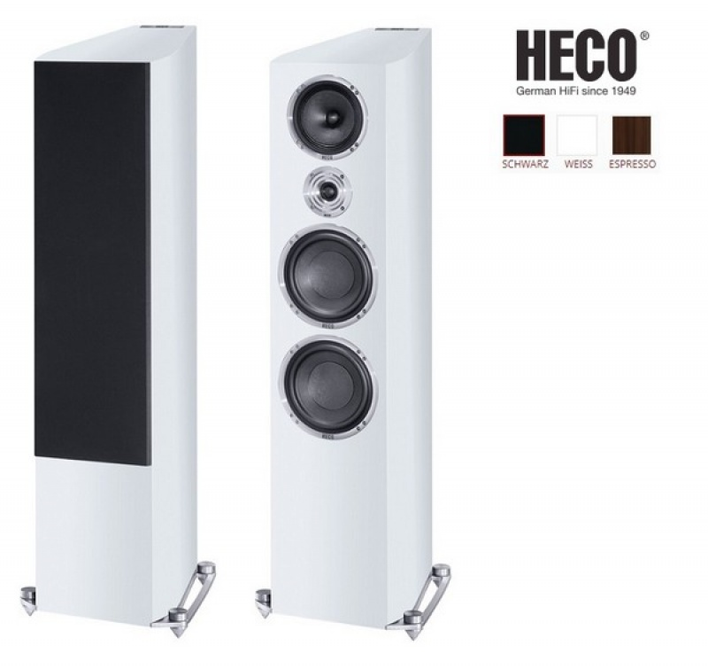 Heco Celan Revolution 9 White Satin