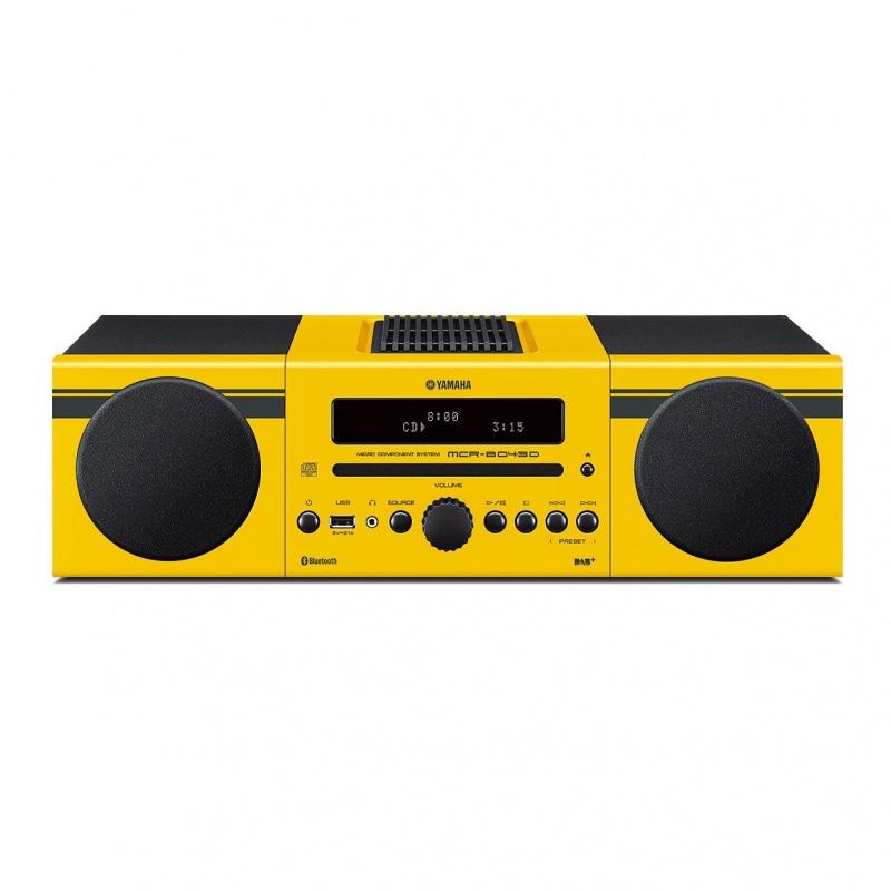 Yamaha MCR-B043D Yellow