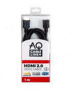 AQ BVH010 - HDMI 2.0 kabel 4K/UHD - 1,0 m