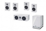 Heco Music Style REAR set 200F 5.1 - White