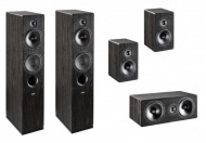 Indiana Line Tesi Home Cinema Set - Black Oak Vinyl