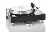 Acoustic Solid - Solid Wood Black Midi Pure Aluminium
