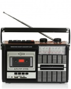 Ricatech PR85 Recorder 80's Radio Cassette USB / SD