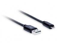 AQ Premium PC64010 - MicroUSB - USB 2.0 2,4 A, dĺžka 1,0 m