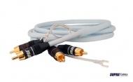 RCA signálový kábel ku gramofónovým prístrojom SUPRA Bílina PHONO 2RCA 1.5M
