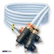 RCA-cinch signálny kábel Supra DAC-SL, dĺžka 1 meter