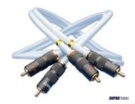 RCA-cinch prepojovací kábel SUPRA EFF - IX, dĺžka 2 metre