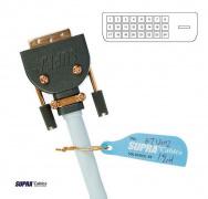 Digitálny kábel DVI-D 24 + 1 SUPRA DVI-DVI DUAL-LINK 5.0 m
