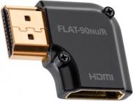 Audioquest HDMI adaptér 90° Nu/R- otočenie vpravo HDMI samec-HDMI samice