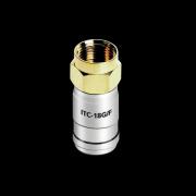 Audioquest F konektor pro kabel 18 AWG ITC-18G/F50