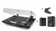 DUAL DT 400 USB + Ortofon OM 5E + DUAL LS 100 Active Monitor