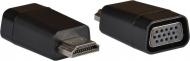 AQ KV107 - adaptér HDMI samec - VGA (D-SUB) samica