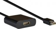 AQ KV108 - adaptér Mini DisplayPort samec - HDMI samica (0,2 m)