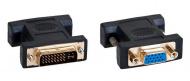 AQ KV105 - adaptér DVI M - VGA ( D-sub ) F