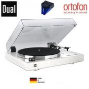 DUAL CS 600 High Gloss White Special Edition + Ortofon 2M Blue
