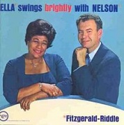 Ella Fitzgerald - Swings Brightly With Nelson LP