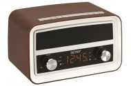 Radio-budík Denver CRB-619 BROWN
