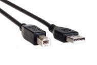 AQ KCB018 - kábel USB 2.0 B M - USB 2.0 A M, dĺžka 1,8 m