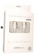 HDMI kabel SUPRA by JenTech-HDMI HIGH SPEED ETHERNET White -1.5m