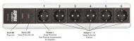 SUPRA Mains Block MD06-EU/SP Mk3.1 + SUPRA LoRad 2.5 CS-EU - 10-16A