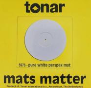 Tonar Pure White Perspex mat