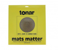 Tonar Cork Rubber mixture turntable mat