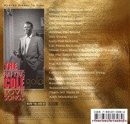 Nat King Cole - Love Songs CD