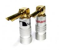 Nakamichi Banana Plugs Angle N0534AE