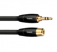 Audioquest Tower 3,5 mm jack samec - 3,5 mm jack samice 5 m