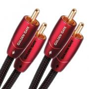Audioquest Golden Gate RR 2 m - audio kabel 2 x RCA - 2 x RCA
