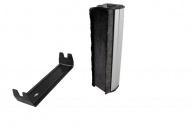 Ludic Audio Exstatic carbon fiber and velvet cleaning brush