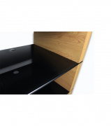 Ludic Audio Vanir Audiorack Black Oak