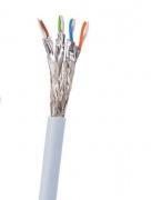 Síťový kabel s koncovkou RJ45 SUPRA-CAT 8 STP PATCH FRHF, délka 1m