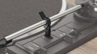 DUAL CS 458 EV Black + Audio Technica AT-91E