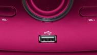 Přehrávač Bigben CD/MP3/USB růžová