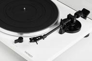 Thorens TD-201 - Bílý klavírní lak