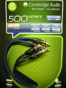 Kabel Cambridge Audio A500 RCA - 1 m